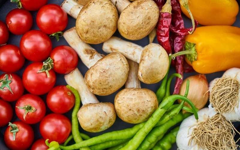 næringsindhold i købte grøntsager falder